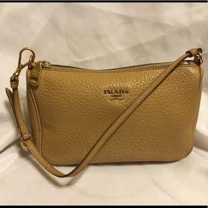 PRADA Authentic Tan Mini Handbag